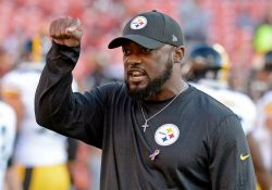 cadeb246c NFL national anthem flap sees Steelers coach Mike Tomlin rap Alejandro  Villanueva. Like we needed another reason to not watch NFL games this year.
