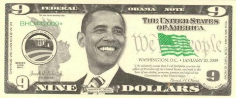 Obama-nine-dollar-bill