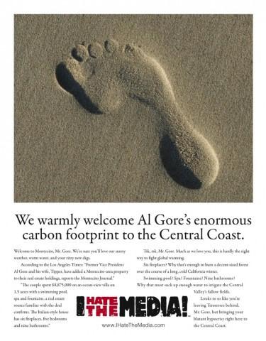 Al Gore Montecito Journal newspaper ad