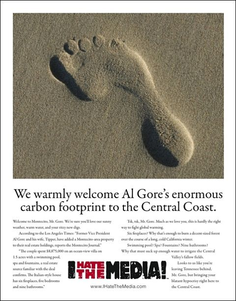 Al Gore Montecito Journal newspaper ad (480w)