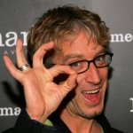 This one's Andy Dick. That one up there is Rachel Maddow.