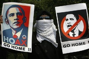 arab obama protest
