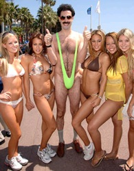 borat and girls