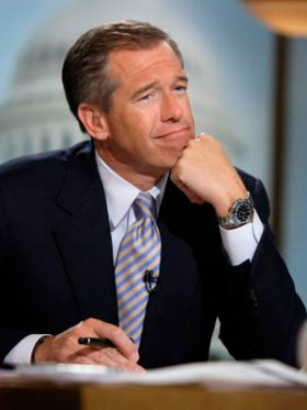 Brian Williams remembering Walter Cronkite's sweet, warm breath