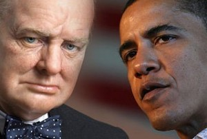 churchill obama inspirational leaders