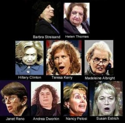 ugly democrat women