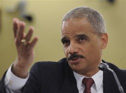 Attorney General Eric Holder shrugs at the thought that taxpayers shouldn't pay for illegal alien attorneys.