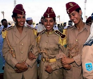 gaddafi virgin bodyguards