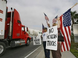 mexican-truck-protest