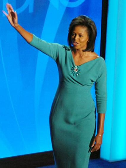 Michelle Obama bulge