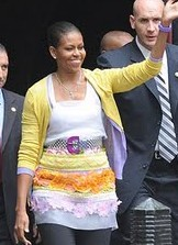 Vanity Fair says Michelle Obama is well-dressed. Who are we to argue with Vanity Fair?