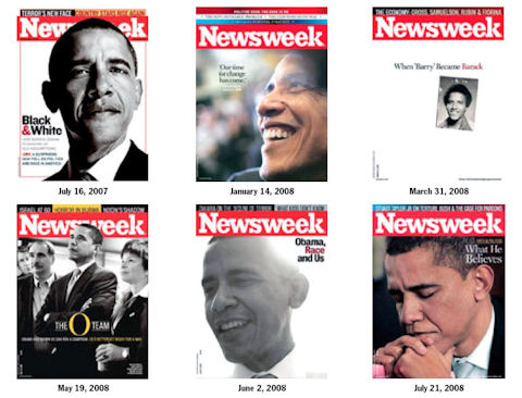 newsweek obama covers