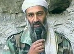 Reporting from Waziristan, this is Osama Bin Laden, Action News al Jazeera