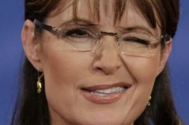 Sarah Palin wrote the sentence. Wink, wink.