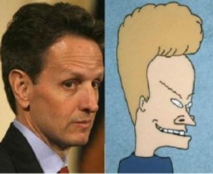 Tim Geithner Beavis