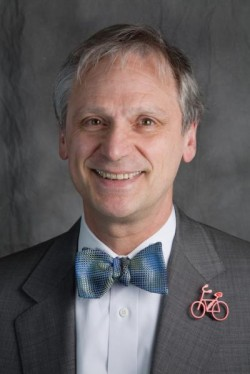Congressman Earl Blumenauer is getting a little behind in his work