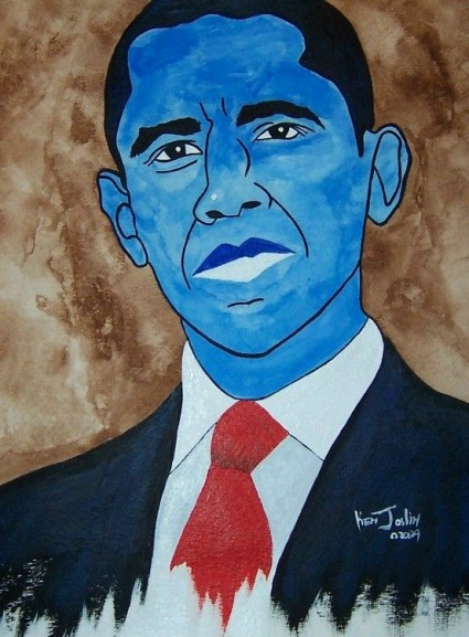america's first blue black president