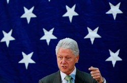 When it comes to URLs, the stars are not for former President Clinton.