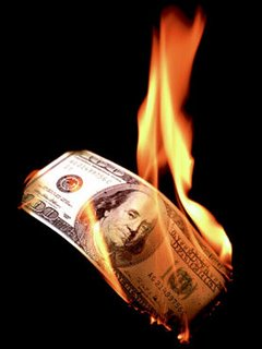 "That ""stimulus"" money is burning a hole in Obama's pocket."