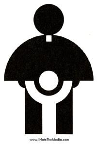 Cathoiic Priest Boy Logo