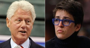 Bill Clinton Rache Maddow