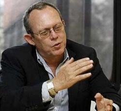 UN Special Rapporteur Frank La Rue doing whatever it is special rapporteurs do.