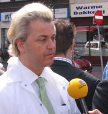 Dutch politician Geert Wilders has been accused of telling the truth