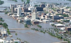 Iowa flooding looked as bad as many sections of New Orleans. So where was the media? Where was Sean Penn?