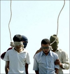 iran gay execution