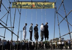 State sanctioned execution of homosexuals in <s>Alabama</s> <s>Mississippi</s> Iran