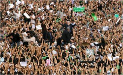 WTF? Iranian protesters get more support from the Egyptian dictatorship than they do from President Obama.