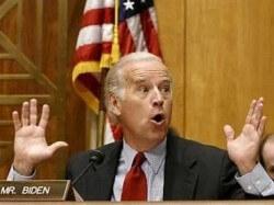 David Patterson is blind, but he's not deaf. He would have sworn he heard Joe Biden's endorsement.