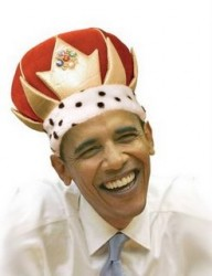 King Barack. He wants to defend the downtrodden so much that he's doing everything he can to make more of them.