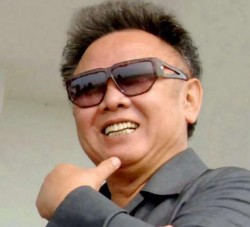 Kim Jong-Il, dictator of North Korea and master of diplomatic insults