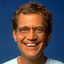 File photo of David Letterman from about 20 years ago, back when he was funny
