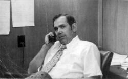 1977 file photo of Bruce Malkenhorst, California's most highly-paid former bureaucrat
