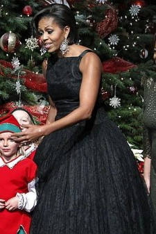 michelle obama second hand dress
