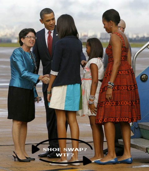 michelle obama shoes brazil