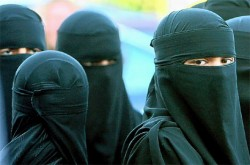 It's much easier to be a Muslim cross-dresser because the burkha hides your adam's apple