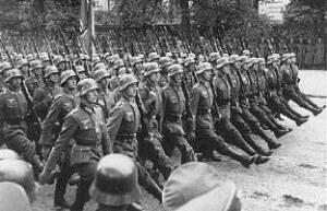 nazi-marching