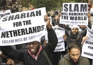 netherlands-muslim-protest