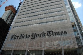 It's always party time at the New York Times - Democratic party time.