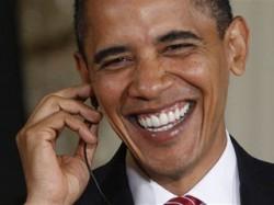 President Obama reacts to another Mahmoud Ahmadinejad gutbuster
