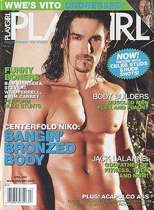 Naked johnston playgirl levi