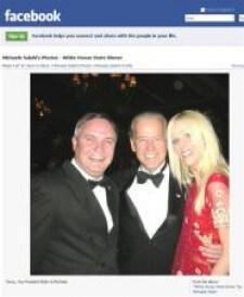 Joe Biden has a tighter grip on Michaele Salahi than he does on reality