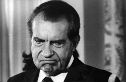 "At the rate this administration is going, the term ""Nixonian"" may soon be replaced ""Obamian"""