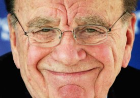 Rupert Murdoch has plenty of reasons to smile.