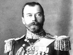 Czar Nicholas. Or maybe a Congressional Democrat. We're not sure which.