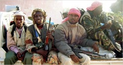 Merry band of Islamic Somalian Robin Hoods preparing to steal from the rich, give to the poor, and slaughter damn near anyone who crosses their path.