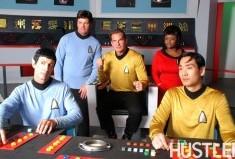 Not Spock, not Bones, not Captain Kirk, not Lt. Uhura, not Sulu.